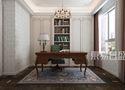 15-20万140平米四室两厅欧式风格书房装修案例