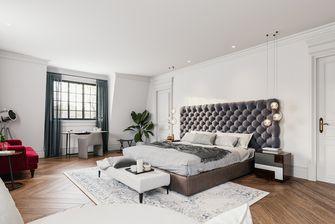 经济型110平米三室两厅法式风格卧室欣赏图