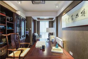 15-20万140平米四室一厅中式风格书房设计图