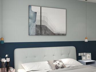 60平米一居室现代简约风格卧室设计图