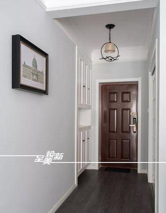 富裕型100平米三室两厅美式风格玄关效果图