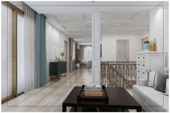 20万以上140平米别墅美式风格楼梯间装修图片大全