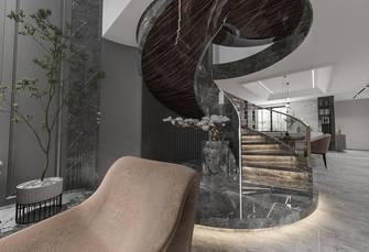 豪华型140平米别墅现代简约风格楼梯间效果图