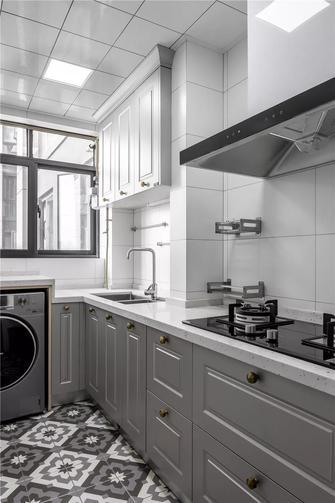 10-15万120平米三轻奢风格厨房图