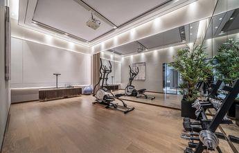 豪华型140平米现代简约风格健身房装修图片大全