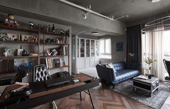 豪华型110平米四室一厅混搭风格书房装修图片大全