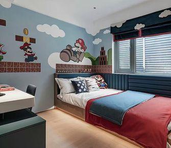 120平米三港式风格青少年房设计图
