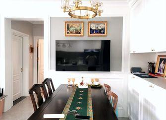 90平米美式风格餐厅图片