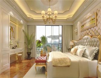 15-20万140平米别墅混搭风格卧室装修图片大全