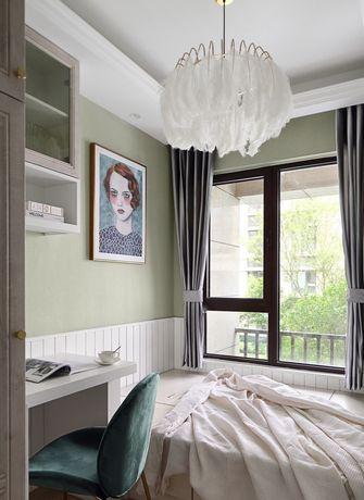 10-15万80平米三室一厅法式风格卧室装修案例