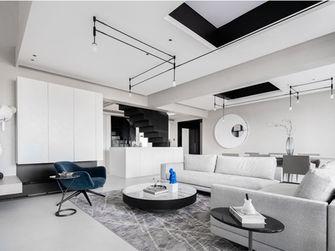 100平米三室一厅现代简约风格客厅欣赏图