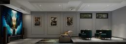 豪华型140平米法式风格影音室图片大全