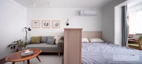 经济型50平米小户型北欧风格卧室欣赏图