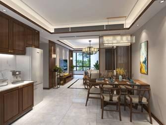 20万以上120平米三室两厅中式风格餐厅欣赏图