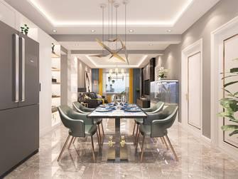 豪华型120平米三室两厅现代简约风格餐厅图