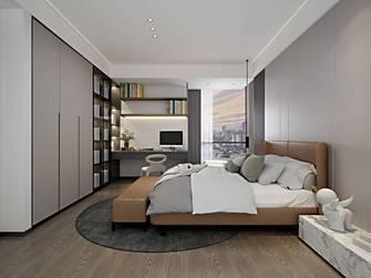 20万以上140平米三现代简约风格青少年房装修效果图