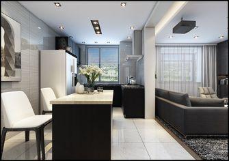 富裕型120平米三室三厅英伦风格餐厅效果图