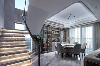 豪华型140平米三室三厅轻奢风格餐厅效果图