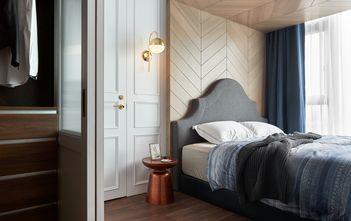富裕型140平米三室两厅混搭风格卧室图