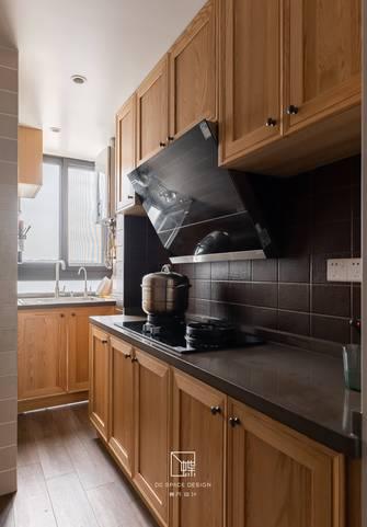 80平米三室两厅美式风格厨房装修效果图