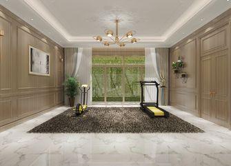 豪华型140平米别墅轻奢风格健身房效果图