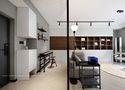 5-10万60平米一居室混搭风格玄关图