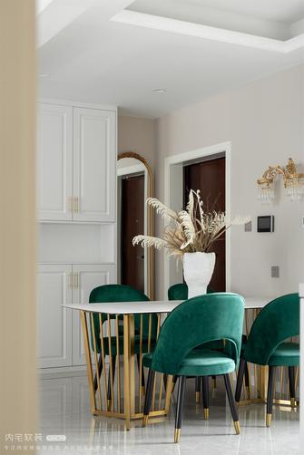 豪华型130平米三室两厅法式风格玄关图片大全