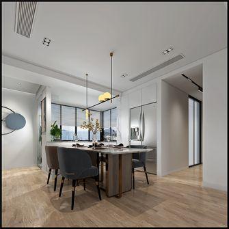 富裕型140平米三室四厅现代简约风格餐厅欣赏图