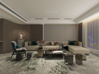 豪华型140平米别墅混搭风格客厅装修案例