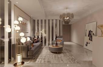 140平米别墅港式风格客厅图