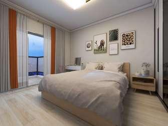 富裕型110平米三室两厅欧式风格青少年房图