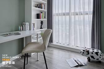 60平米三室两厅北欧风格书房图