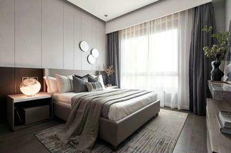 富裕型110平米三室两厅轻奢风格卧室欣赏图