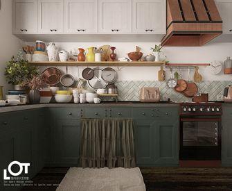 经济型120平米田园风格厨房欣赏图
