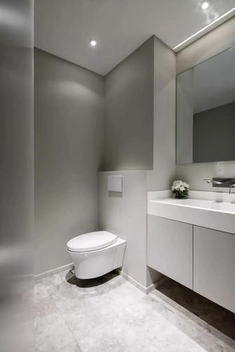 20万以上140平米三室一厅现代简约风格卫生间设计图