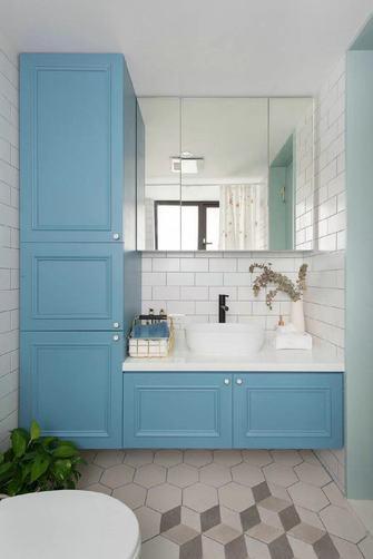 经济型60平米一居室北欧风格卫生间装修图片大全
