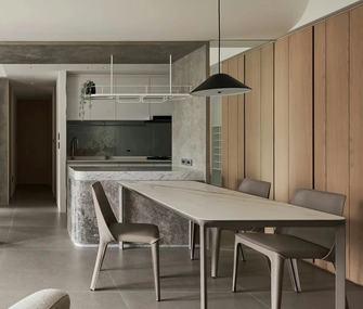 富裕型120平米三室两厅混搭风格餐厅图片