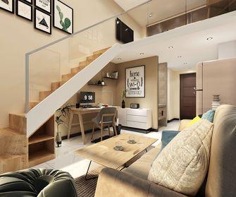 40平米小户型公装风格卧室图
