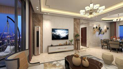 15-20万120平米三室两厅中式风格客厅效果图