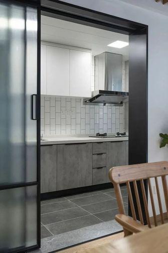 富裕型120平米三室一厅日式风格厨房设计图