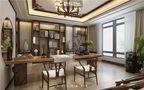 20万以上140平米别墅新古典风格书房装修效果图