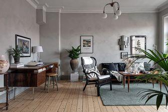 富裕型120平米三欧式风格客厅设计图