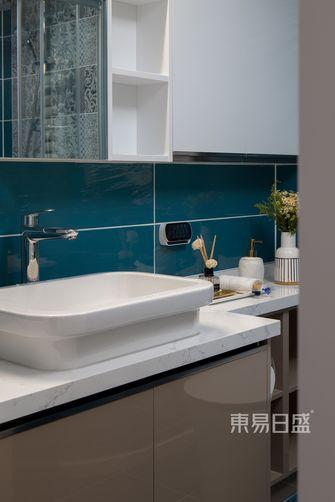 10-15万50平米一居室轻奢风格卫生间图片