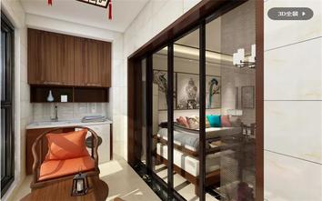 15-20万120平米三室两厅中式风格阳台装修效果图