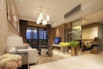 富裕型90平米三现代简约风格客厅装修效果图