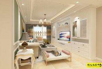 经济型90平米三室两厅欧式风格客厅图片大全