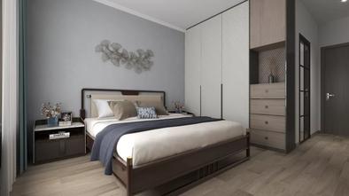 20万以上140平米四室一厅轻奢风格卧室装修案例
