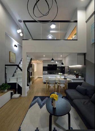 3-5万60平米公寓现代简约风格客厅欣赏图