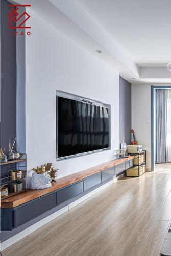 富裕型三室两厅北欧风格走廊图片大全