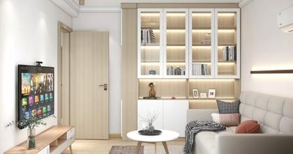 经济型60平米公寓日式风格客厅图